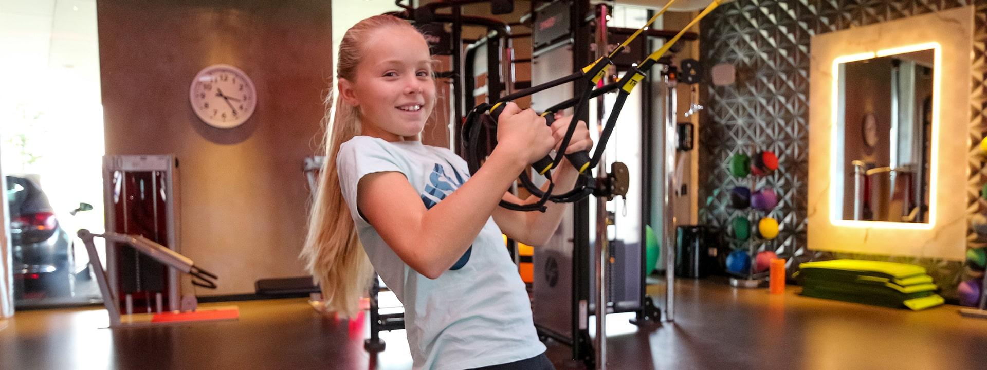 Fitness voor de kids!