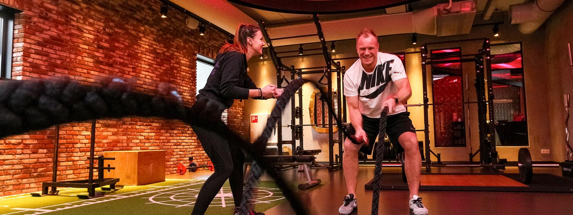 Bij The Fitness Lounge is er altijd een Personal Trainer aanwezig!