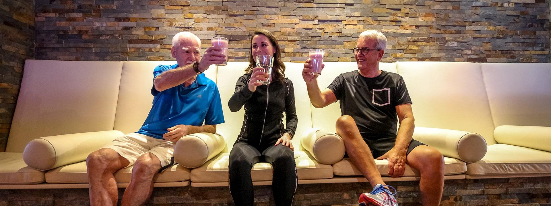 Bij The Fitness Lounge geniet je van de lekkerste shakes!