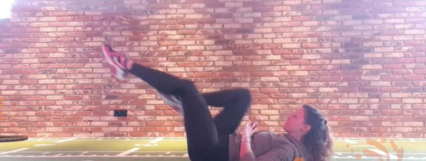 Sixpack Workout met Esther
