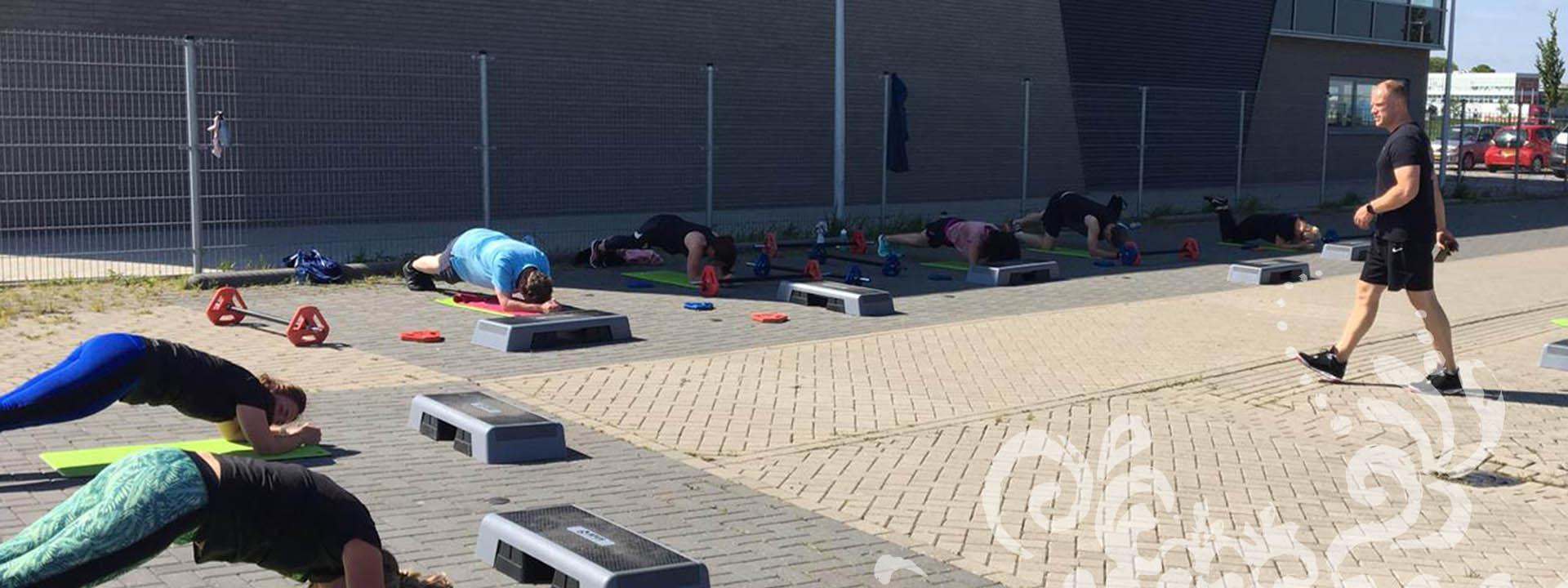 Outdoor Groepslessen bij The Fitness Lounge
